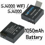 Stärkere Batterie für die SJ4000 – Der 1050mAh Akku