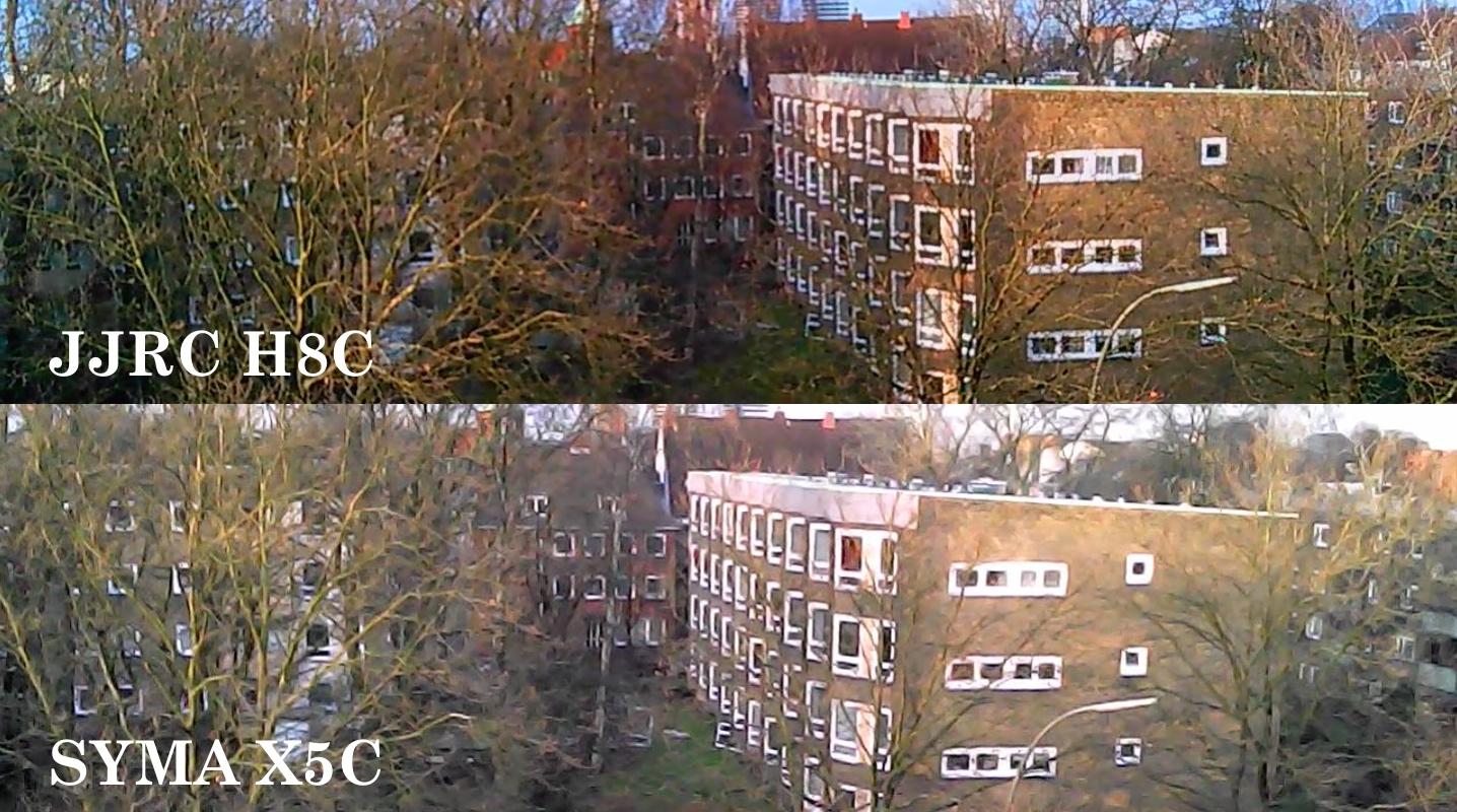 H8C vs X5C Image