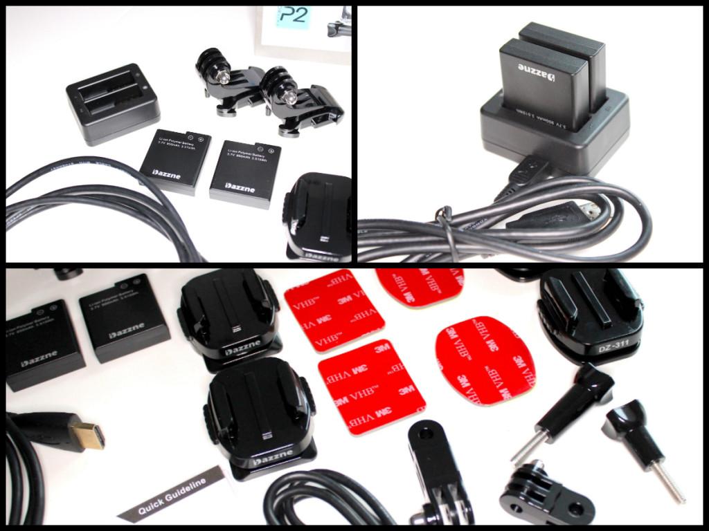 Dazzne P2 Accessories