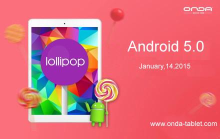 Onda V989 Android 5.0