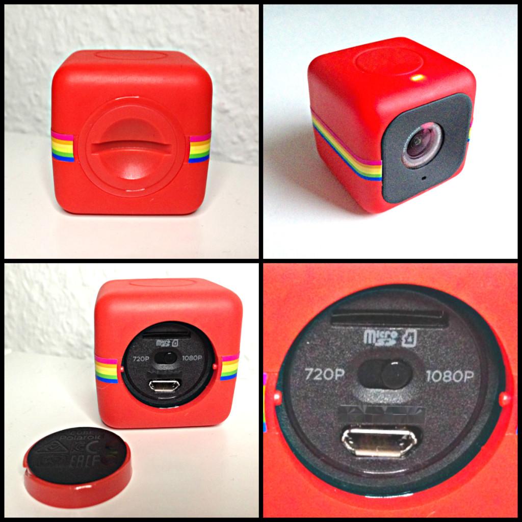 Polaroid Cube Anschlüsse