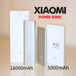 XIAOMI Power Bank – 5000mAh & 16000mAh