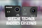 Dazzne P2 vs. SJCAM SJ4000 WIFI – Gleiche Technik, gleiches Ergebnis?