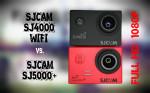 SJCAM SJ4000 WIFI vs. SJCAM SJ5000+ (Plus) – 1080p Vergleich
