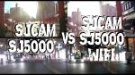 SJCAM SJ5000+ vs. SJCAM SJ5000 WIFI – Radtour bei Tag und Nacht