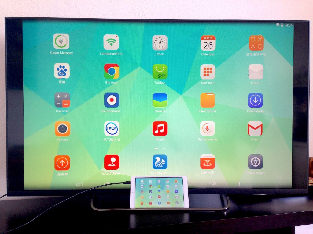 Teclast X80h TV Android