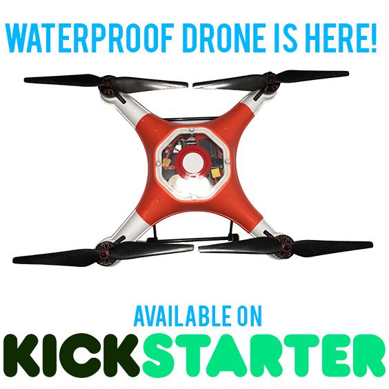 Kickstarter splash drone