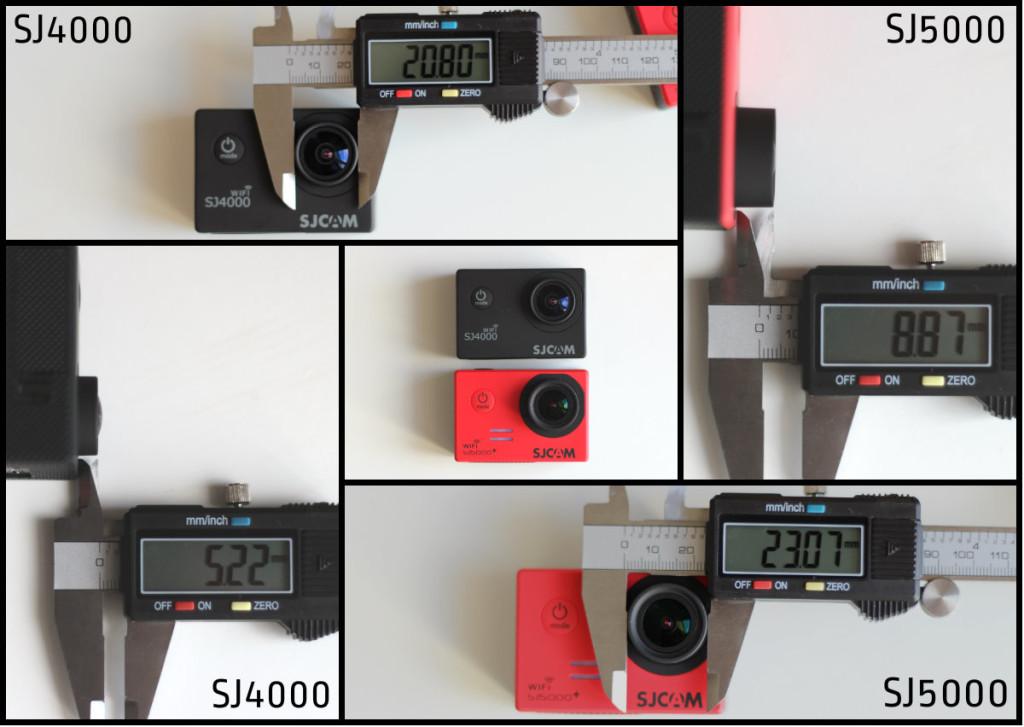 SJ4000 vs SJ5000 Lens