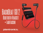 Plantronics BackBeat GO 2 – Bluetooth Ohrhörer
