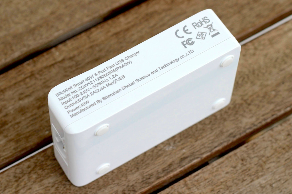 BlitzWolf 5 Port USB Charger Shebel MMonkey