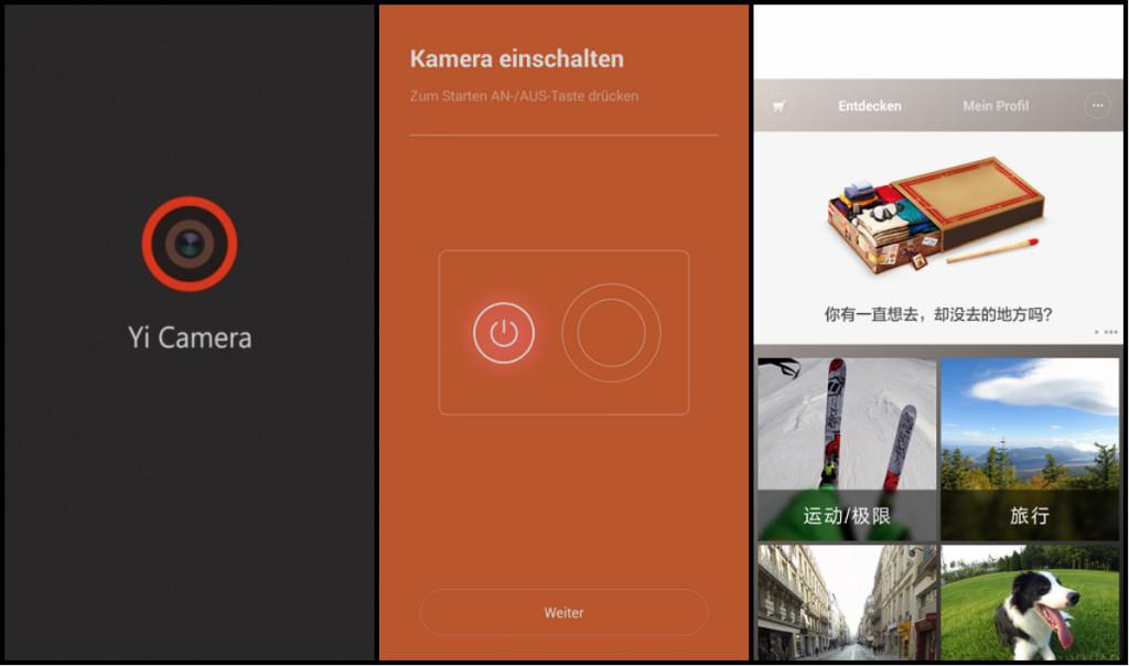 Xiaomi Yi WIFI App apk Deutsch MMonkey