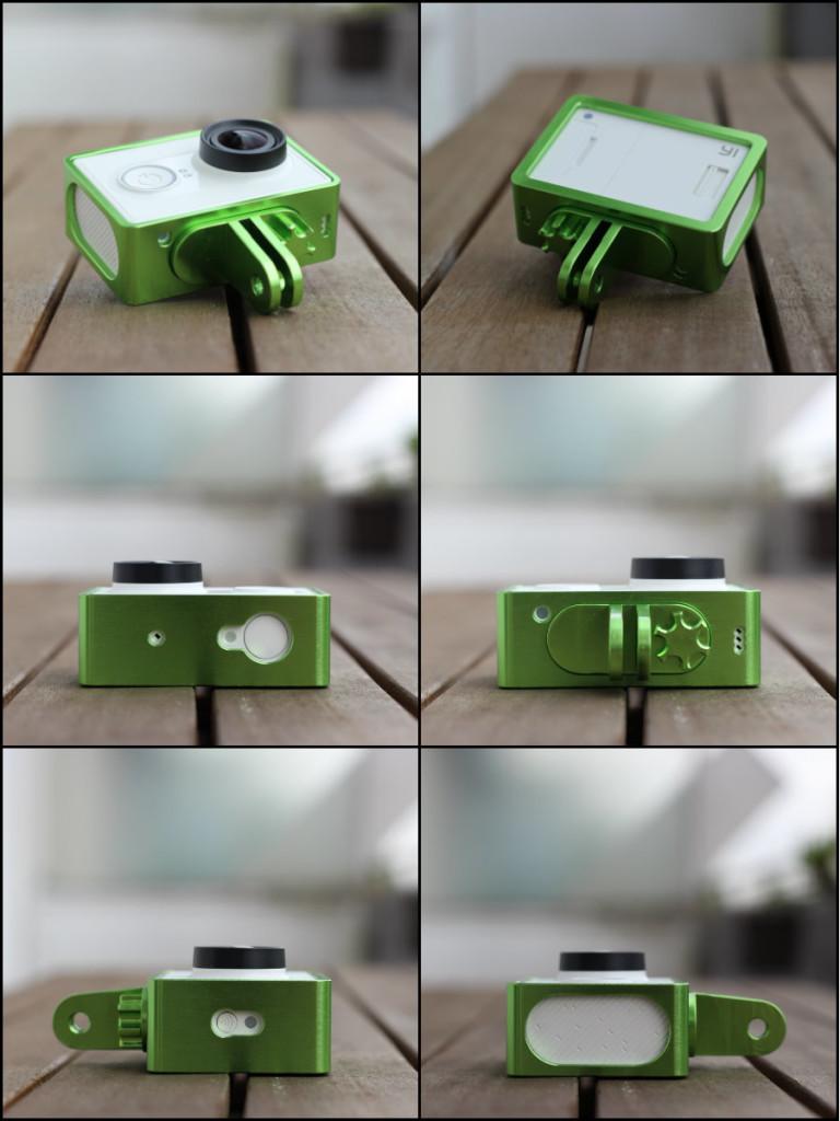 Aluminium Case Frame Xiaomi Yi MMonkey