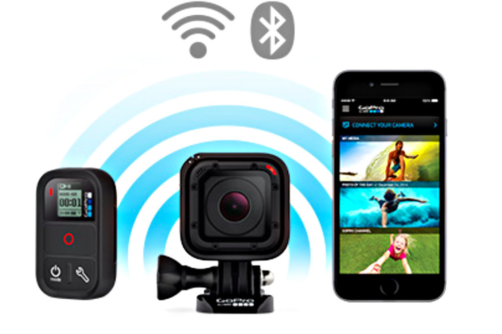 GoPro Hero4 Session App WIFI MMonkey