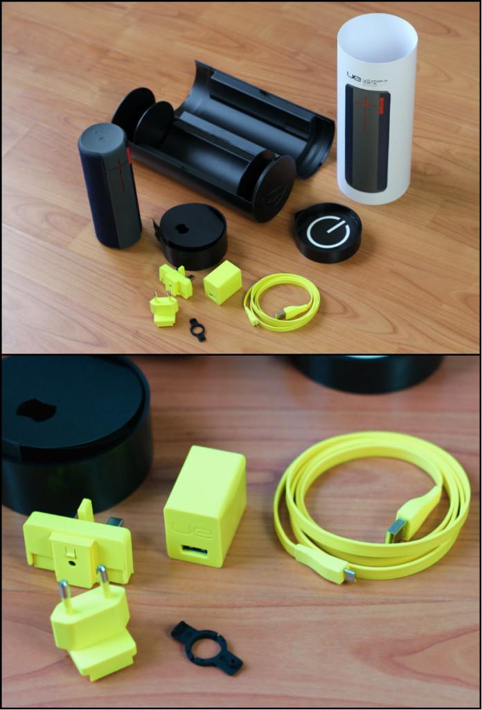 Logitech UE BOOM Ultimate Ears Box Speaker Lieferumfang MMonkey