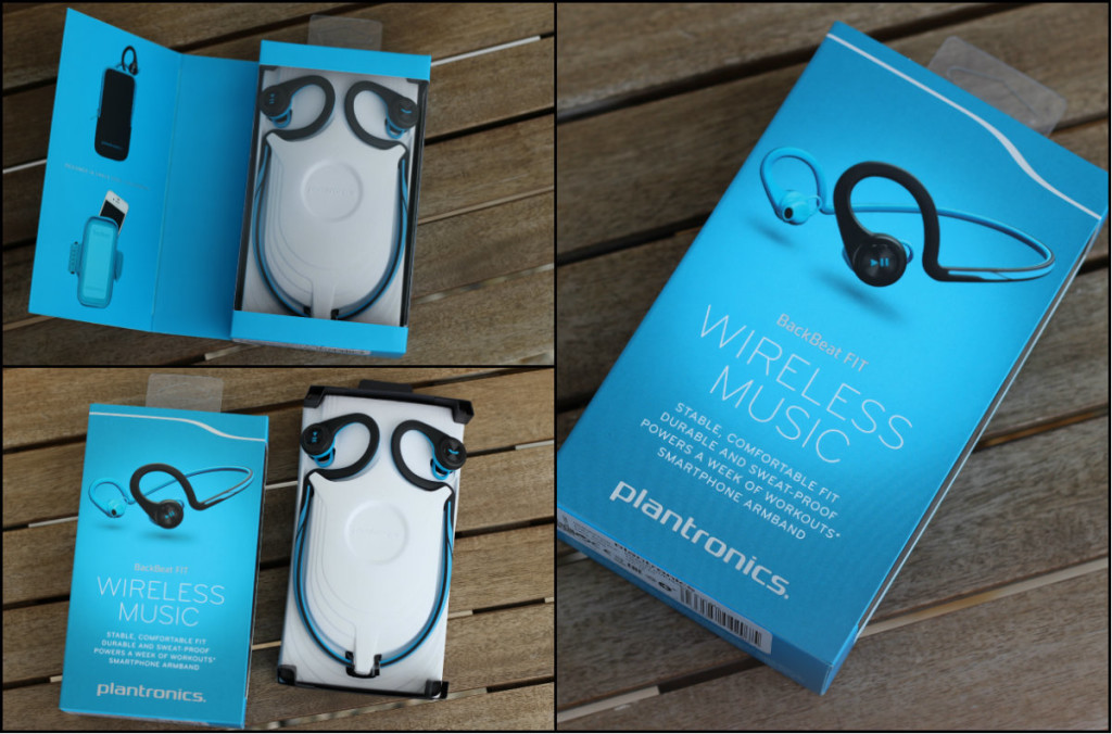 Plantronics BackBeat FIT OVP Box MMonkey
