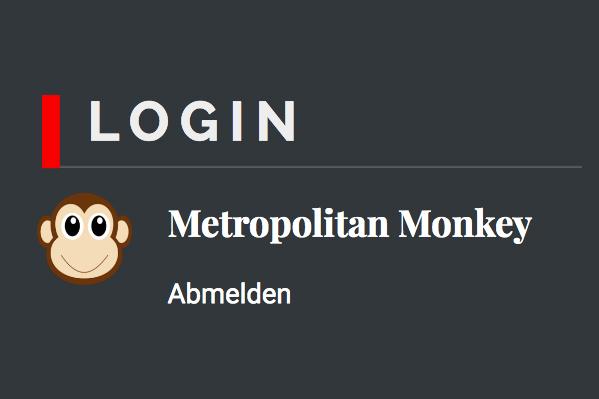 Login MetropolitanMonkey.com