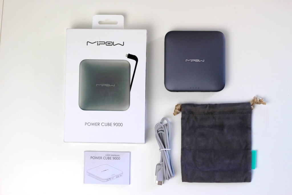 MIPOW Power Cube 9000 L Bank Akku Lightning 8 Pin Apple MFI Inhalt Zubehör MMonkey