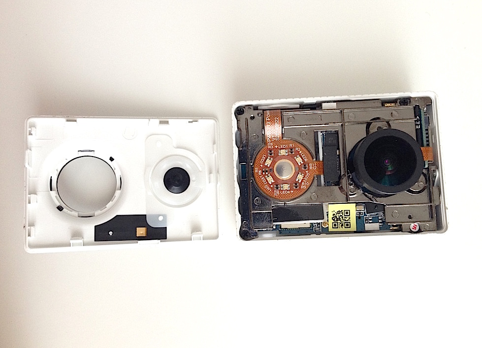 Xiaomi Yi front case focus monkey