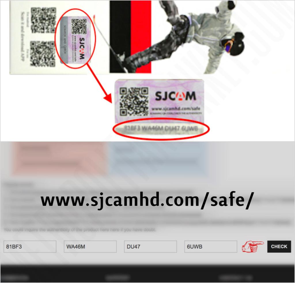sjcam security check code box monkey
