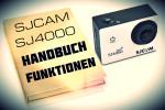 Funktionen und Anleitung – SJ4000 & SJ4000 WIFI