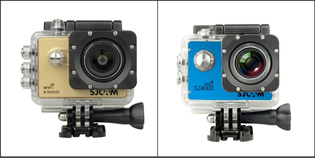 SJCAM X1000 vs sj4000 wifi