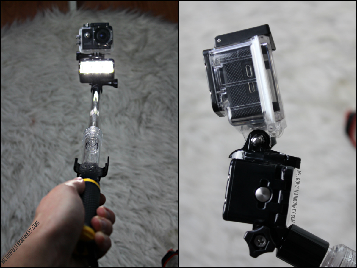 GoPole Diving Light action cam metropolitanmonkey.com