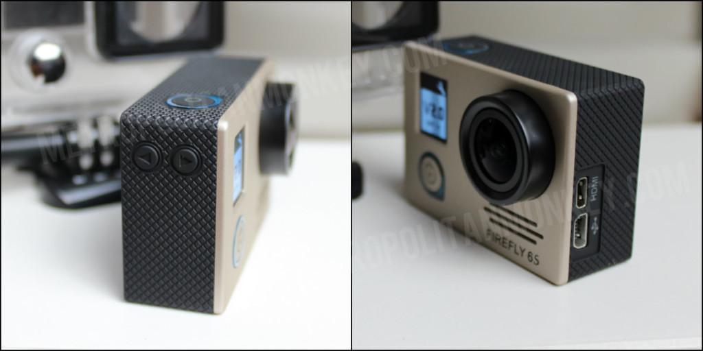 Hawkeye Firefly 6S 4K Buttons USB HDMI