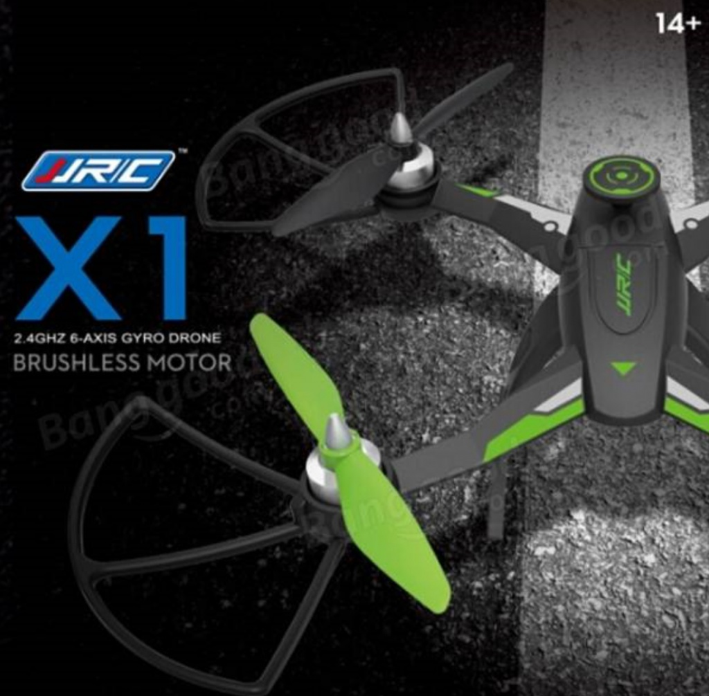 JJRC X1 Brushless green