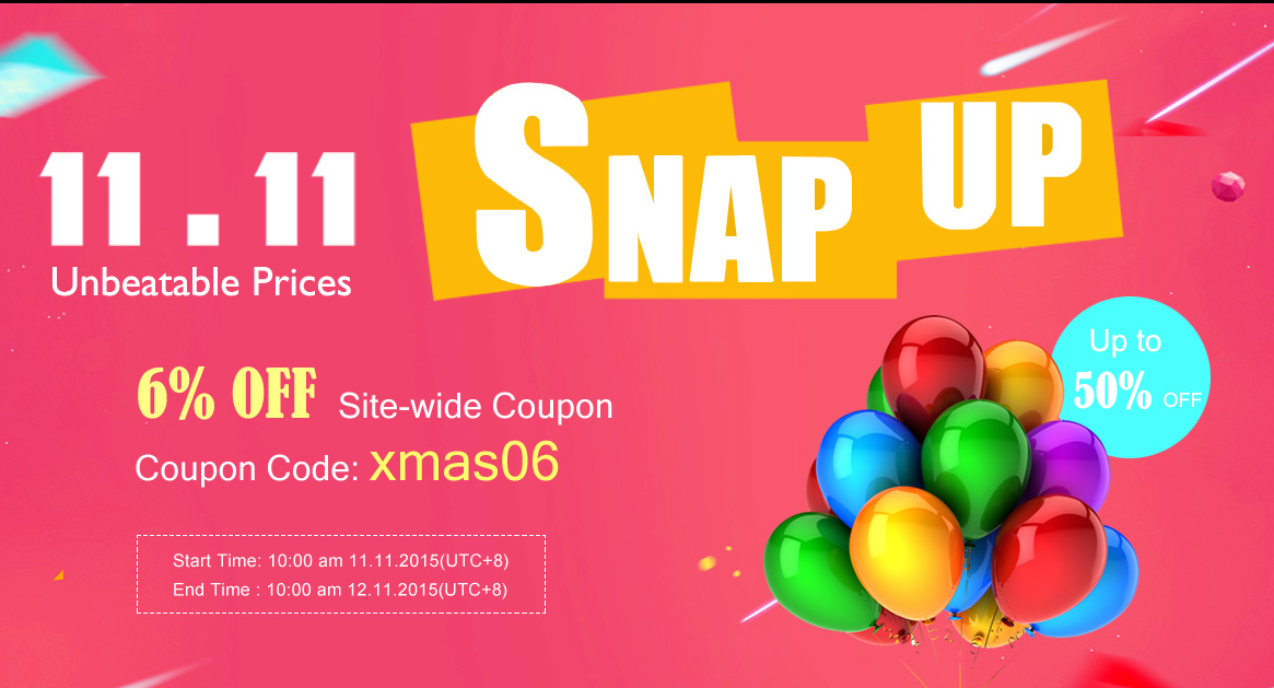 banggood 11.11 snap up