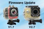 Firmware Update – SJ4000+ [V2.7] und M10+ [V1.7]