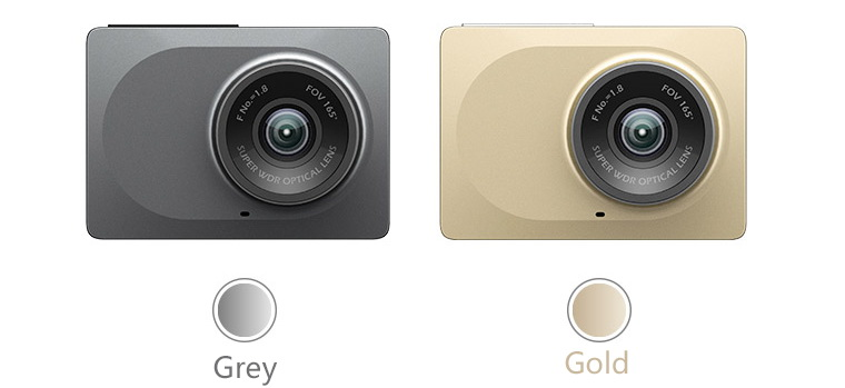 Xiaomi Xiaoyi Yi dashcam car dvr colors