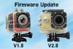 Firmware Update – SJ4000+ [V2.8] und M10+ [V1.8]