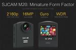 SJCAM M20 – Das Design der Konkurrenz
