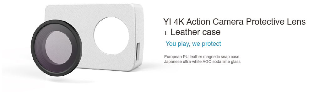xiaomi yi 2 4k action cam uv lens pu leather case metropolitanmonkey.com