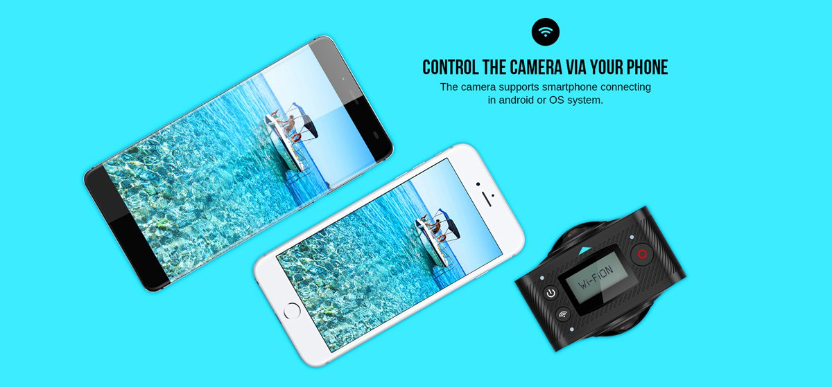 elecam 360 action cam wifi smartphone app metropolitanmonkey.com
