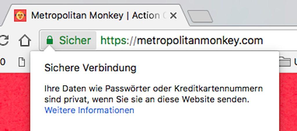 https ssl safe sicher metropolitan monkey google chrome