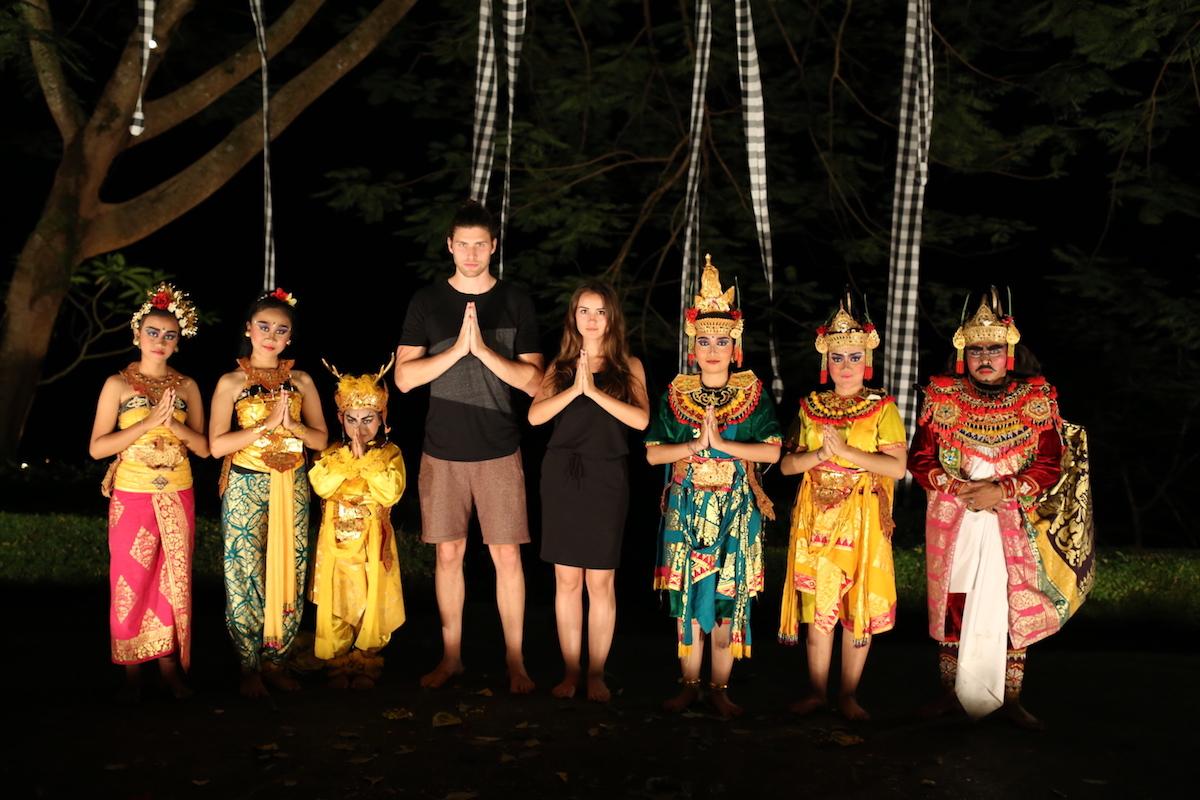 bali indonesien kecak dance tradition