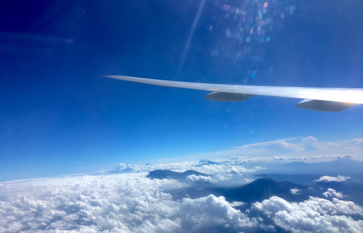 thai airways volcano bali travel