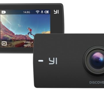 yi discovery 4k action cam