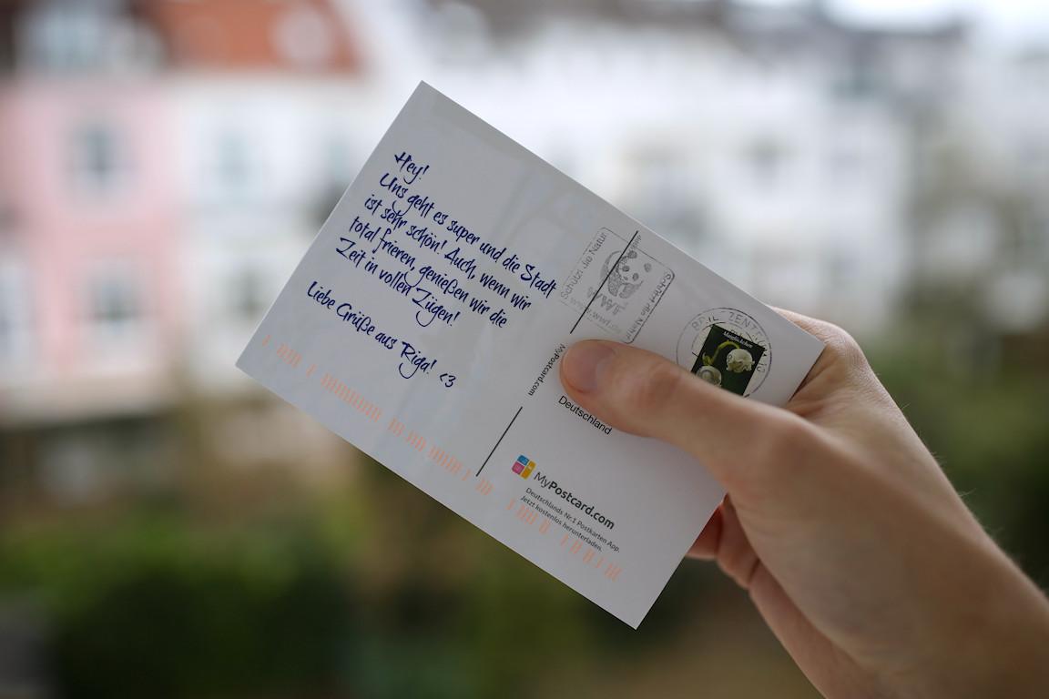 mypostcard postkarten app metropolitan monkey