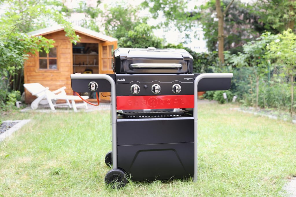 char-broil gas2coal hybridgrill gas kohle metropolitan monkey