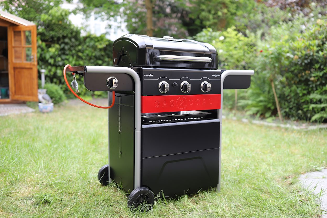 char-broil gas2coal hybridgrill metropolitan monkey