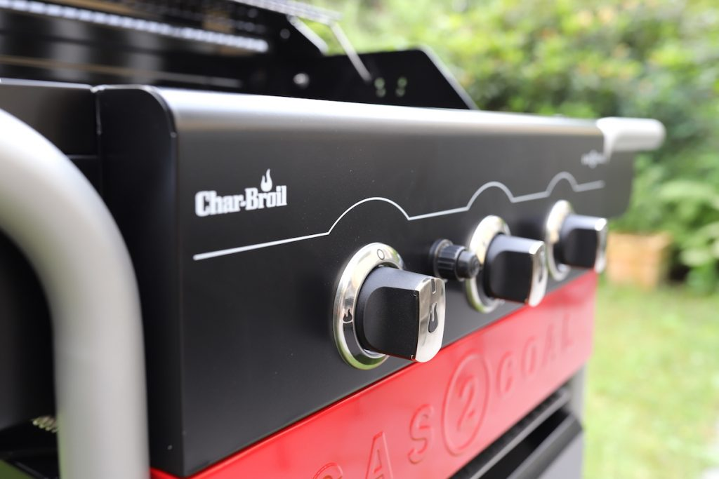char-broil gas2coal regler metropolitan monkey