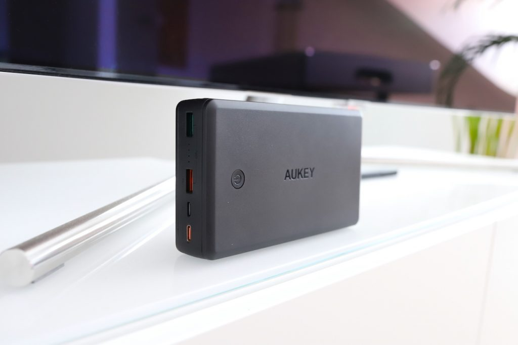 aukey pb-y7 powerbank test review ports metropolitan monkey