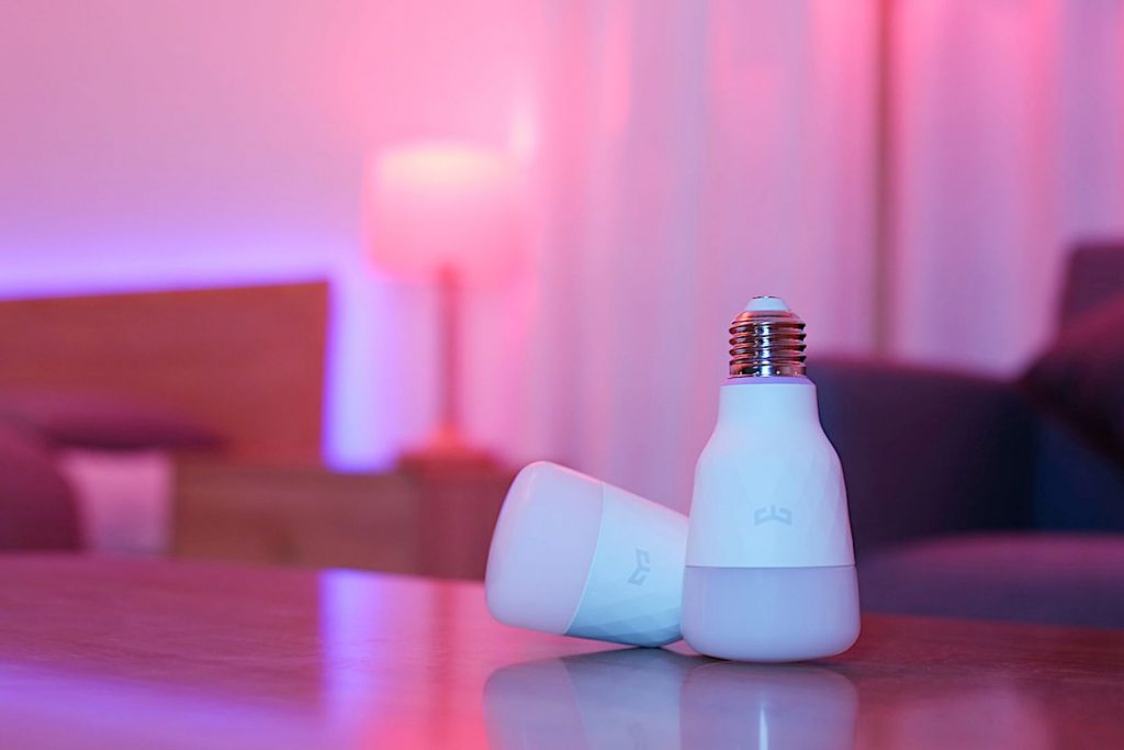 xiaomi yeelight led bulb v2 color metropolitan monkey