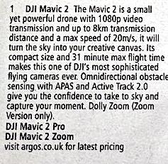 DJI Mavic 2 Specs Metropolitan Monkey