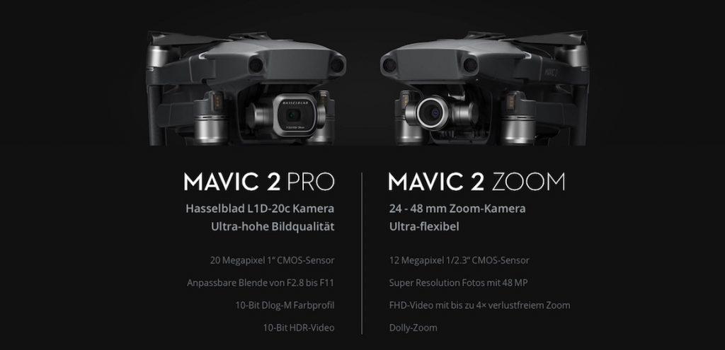 DJI Mavic 2 Pro vs Mavic 2 Zoom Metropolitan Monkey