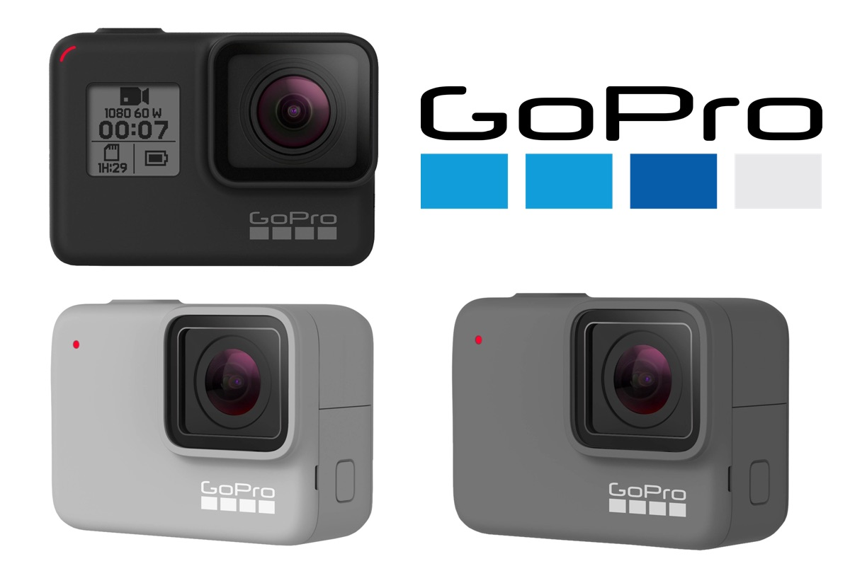 GoPro HERO 7 Black Silver White Metropolitan Monkey