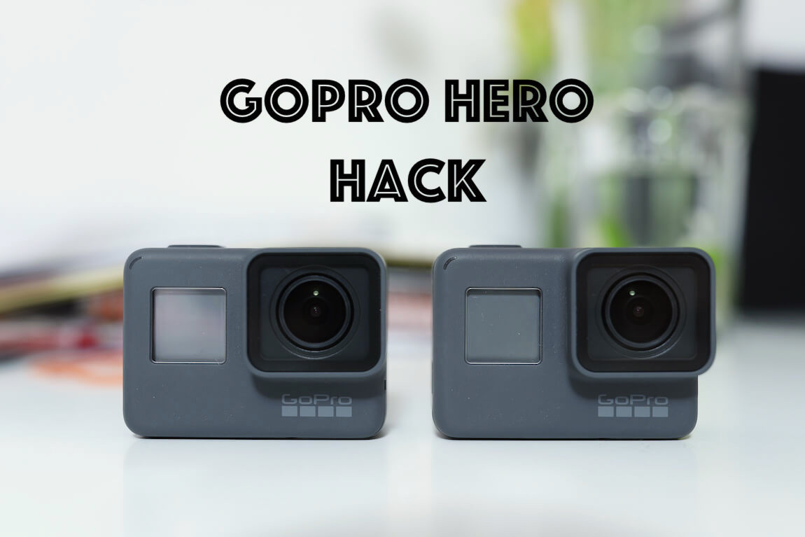 GoPro HERO 2018 Hack HERO5 Black Patch Metropolitan Monkey
