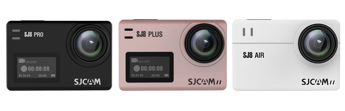 SJCAM SJ8 PRO PLUS AIR Metropolitan Monkey